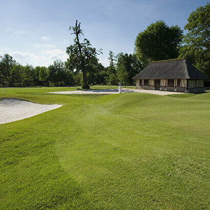 bunker HOLE green vaudreuil golf COURSE SIGHTSEEING NORMANDY