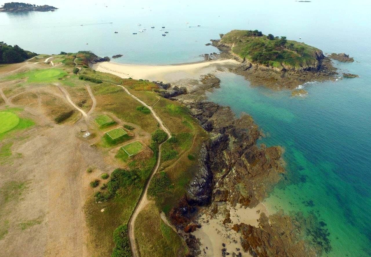 golf dinard brittany coast france