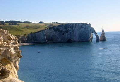 ETRETAT CLIFF NORMANDY