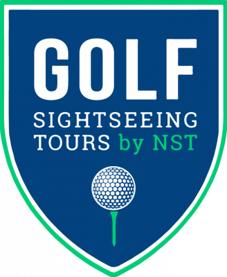 logo golf sightseeing tours nst gst tours normandie loire bretagne paris