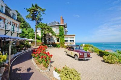 hotel normandy dormy house old vintage car seaview