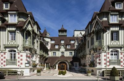 HOTEL BARRIERE NORMANDY DEAUVILLE COLOMBAGE CHAMBRES