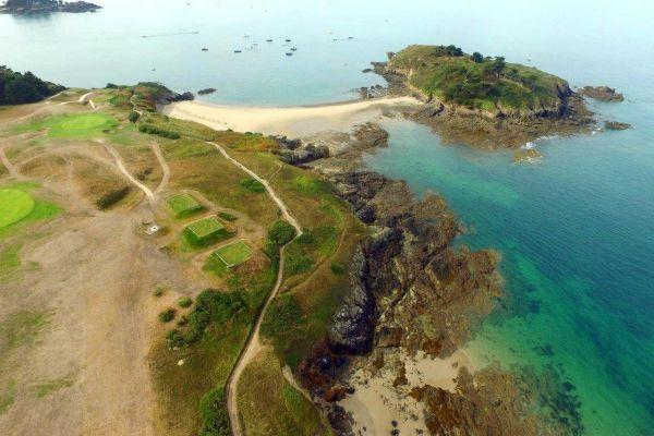 golf de dinard brittany seaside